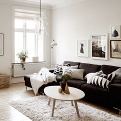 Living Room Ideas Black Furniture Wall Art For 48 And White Decoholic Idea 28