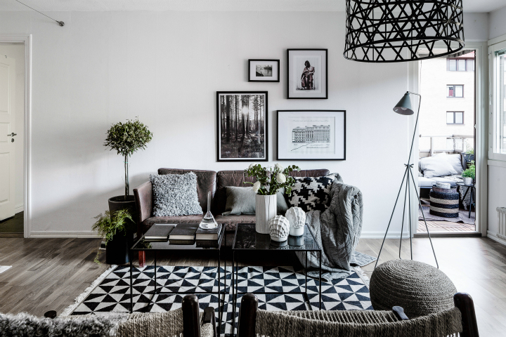 black and white living rooms red cream room rugs 48 ideas decoholic idea 68