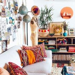 Bohemian Living Room Style Blanket Holder 26 Ideas Decoholic Decor Idea
