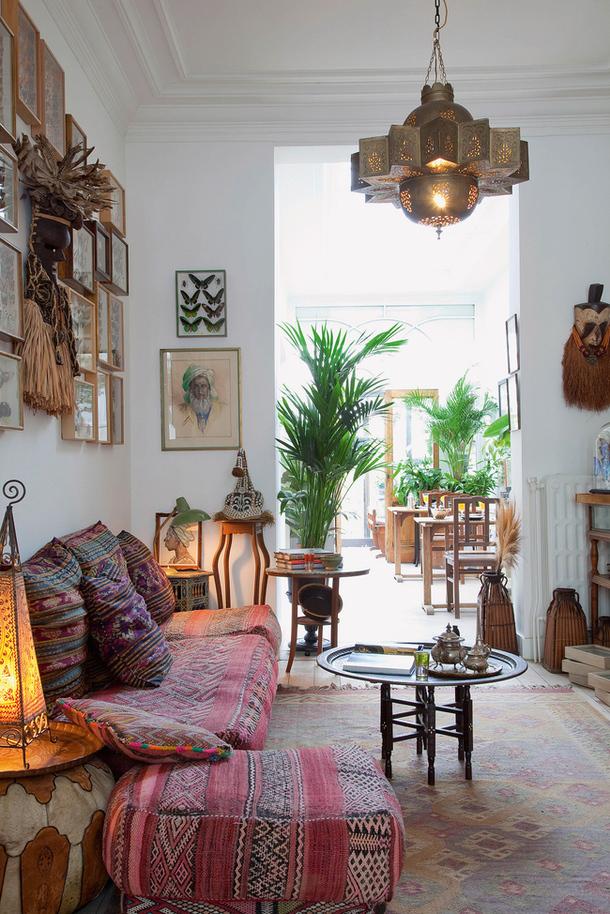bohemian living room decor ideas built in wall units 26 decoholic idea 3