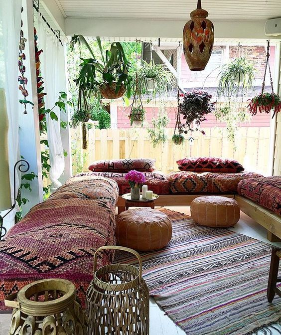 bohemian living room style how to design with fireplace and tv 26 ideas decoholic decorating idea 9