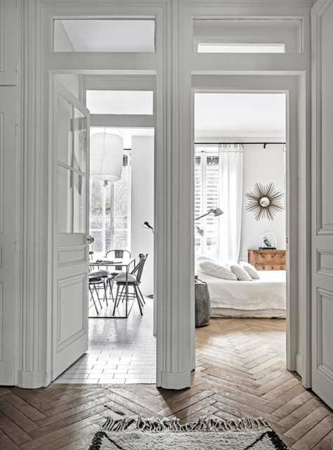 The Luxurious WhiteThemed French Apartment  Decoholic