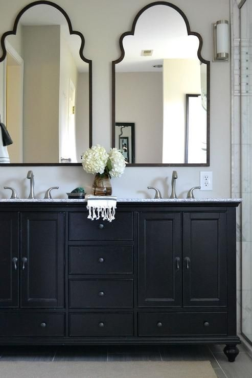 21 Bathroom Ideas Why a Classic Black and White Scheme is