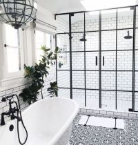 21 Bathroom Ideas: Why a Classic Black and White Scheme is