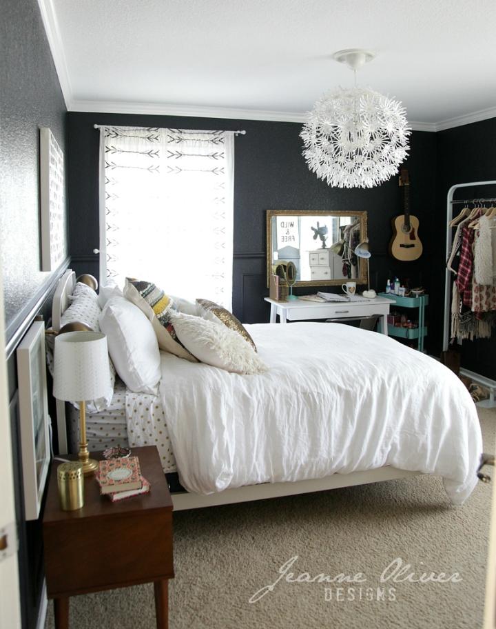 Amazing Teen Girl's Bedroom Makeover