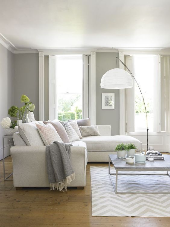 white sofa living room pics of grey and rooms 10 most effective ways to make your stand out decoholic cozy gray with pillows