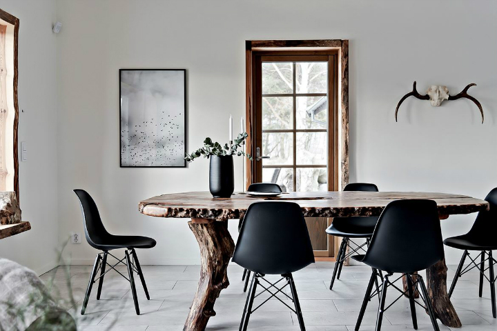 modern gray dining chairs the fully reclinable chair with zero gravity technology beautiful scandinavian interior design - decoholic