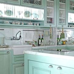 Green Kitchen Cabinets Floor Tiles Ideas 51 Designs Decoholic Design Idea 48