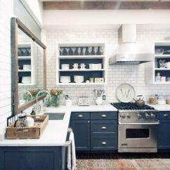 Navy Blue Kitchen Decor Zephyr Hurricane Ak2500 Hood 50 Design Ideas Decoholic Idea 2