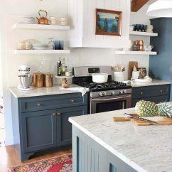 Navy Blue Kitchen Rugs Brown Sink 50 Design Ideas Decoholic Idea 33