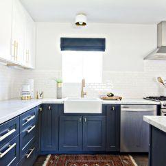 Navy Blue Kitchen Rugs Modern Tile 50 Design Ideas Decoholic Idea 36