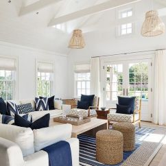 Beach Themed Sofa Pillows Macy S Chloe Reviews 26 Coastal Living Room Ideas: Give Your An Awe ...