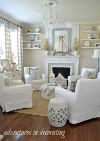 26 Coastal Living Room Ideas: Give Your Living Room An Awe