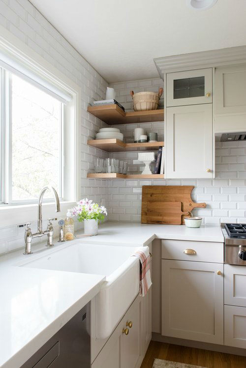 kitchen facelift before and after cabinets evergreen remodel - decoholic