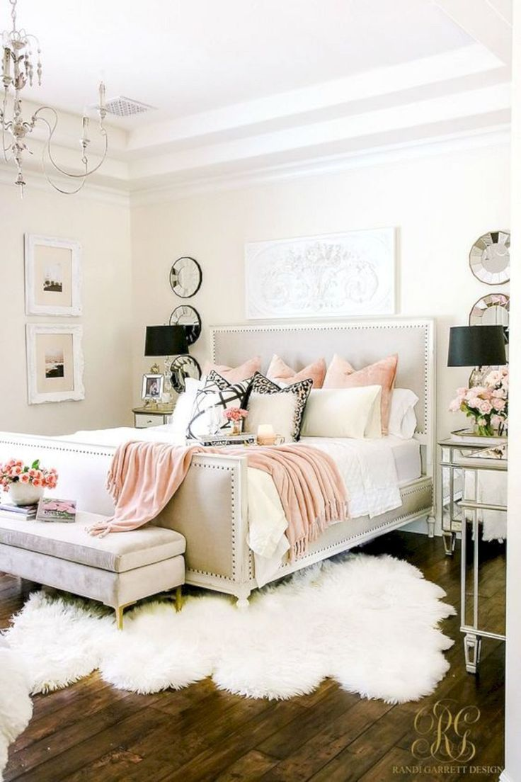 romantic girly bedroom style idea