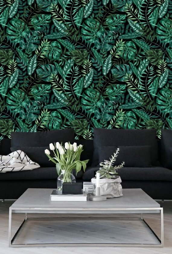 Give a Beautiful Look To Your Walls With Botanical Wallpapers  Decoholic