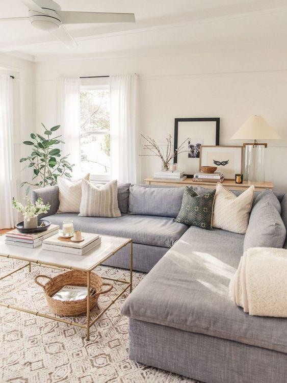 update living room decor idea on a budget