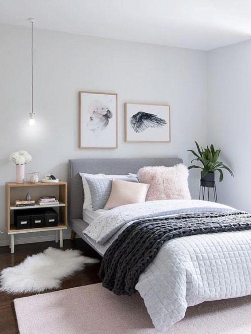 grey bedroom design idea 10