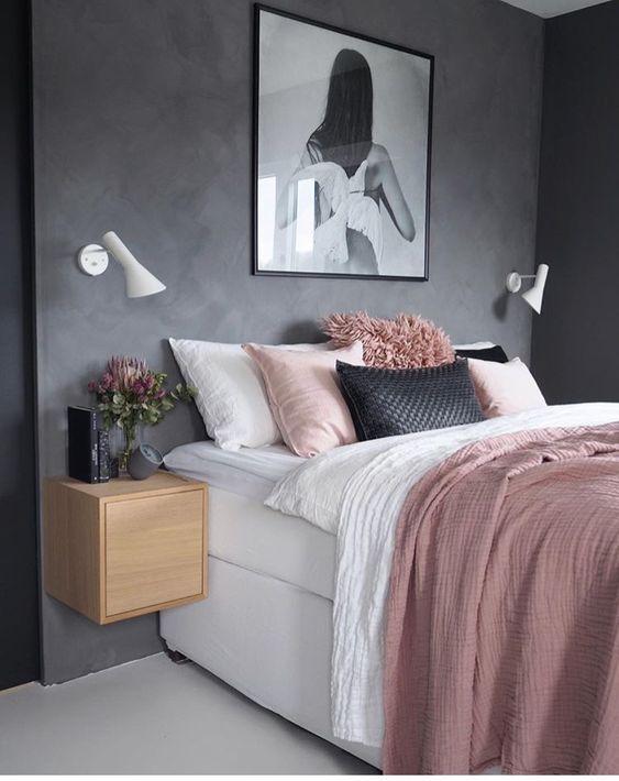 grey bedroom design concept 8