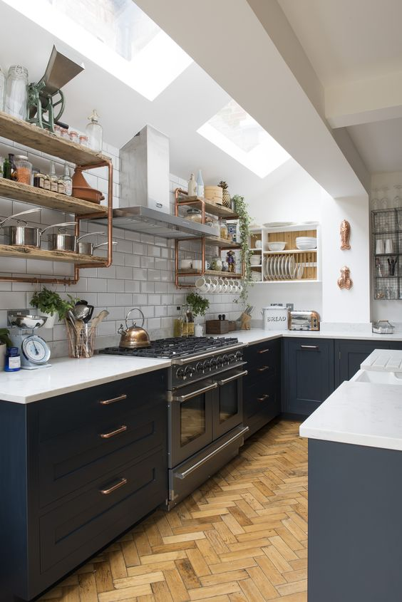 10 Amazing Kitchen Open Shelving Ideas  Decoholic