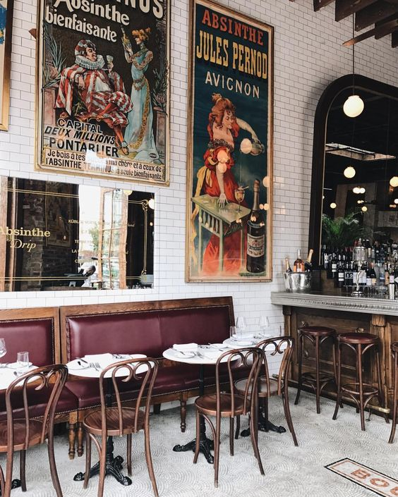 French Cafe Interior : french, interior, French, Bistro, Dining, Room:, Ultimate, Inspiration, Guide, Decoholic