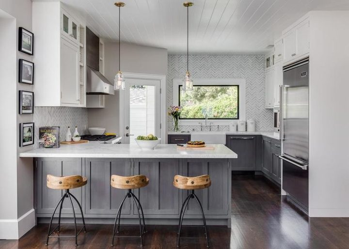 10 Stunning Grey And White Kitchen Design Ideas Decoholic
