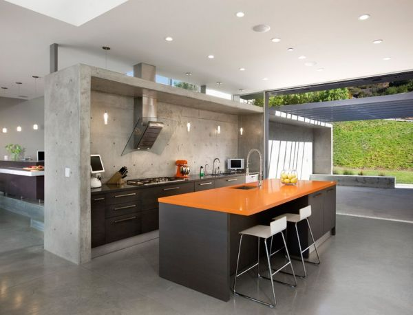 modern architecture kitchen 11 Amazing Concrete Kitchen Design Ideas - Decoholic