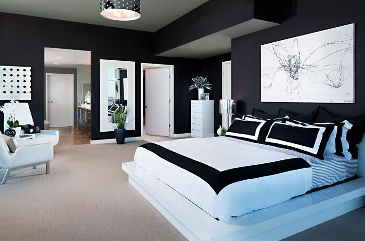 10 Amazing Black and White Bedrooms  Decoholic
