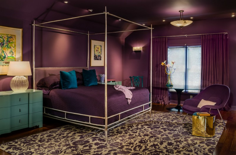 Lovely Purple Master Bedroom Ideas That Will Never Go Out