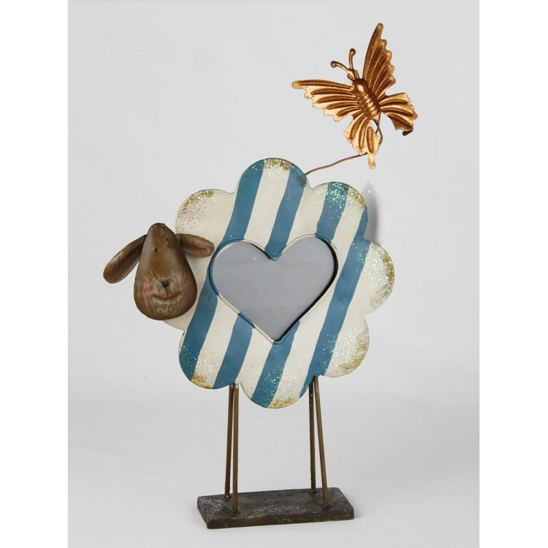 Portafotos oveja mariposa 36x23 cm