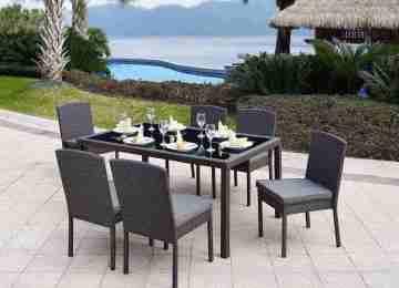 Table De Jardin Resine Tressee Discount | Salon De Jardin D 39angle ...