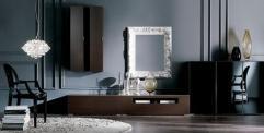 Decoración de Salones con Muebles Oscuros