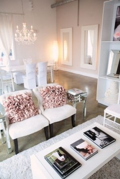 Cómo crear un espacios delicados y femeninos