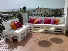 Decoración low cost para terrazas