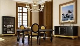 Muebles dorados 4