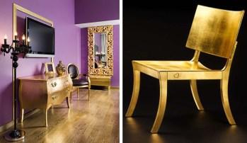 Muebles dorados 8