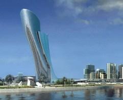12. Capital Gate (Abu Dhabi, Estados Arabes Unidos)