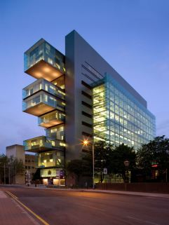 5. Centro de Justicia Civil de Manchester (Manchester, Reino Unido)