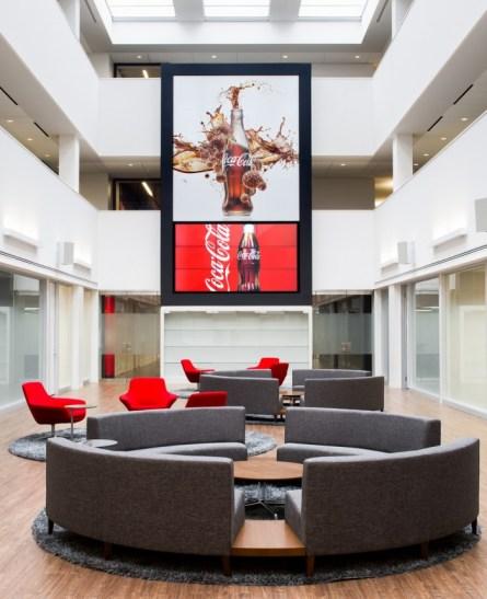 Coca Cola Una de las mejores oficinas es la ubicada en Londres, Inglaterra