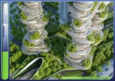 Un París verde y sostenible de manera inteligente en 2050