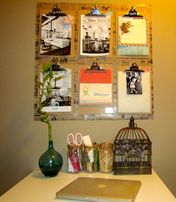 Clipboards Wall Decor Deco-trending
