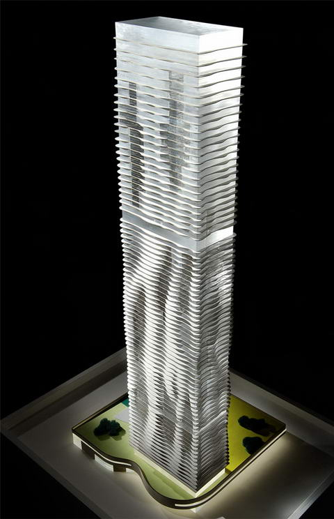 The Aqua Tower By Studio Gang Architects Chicago