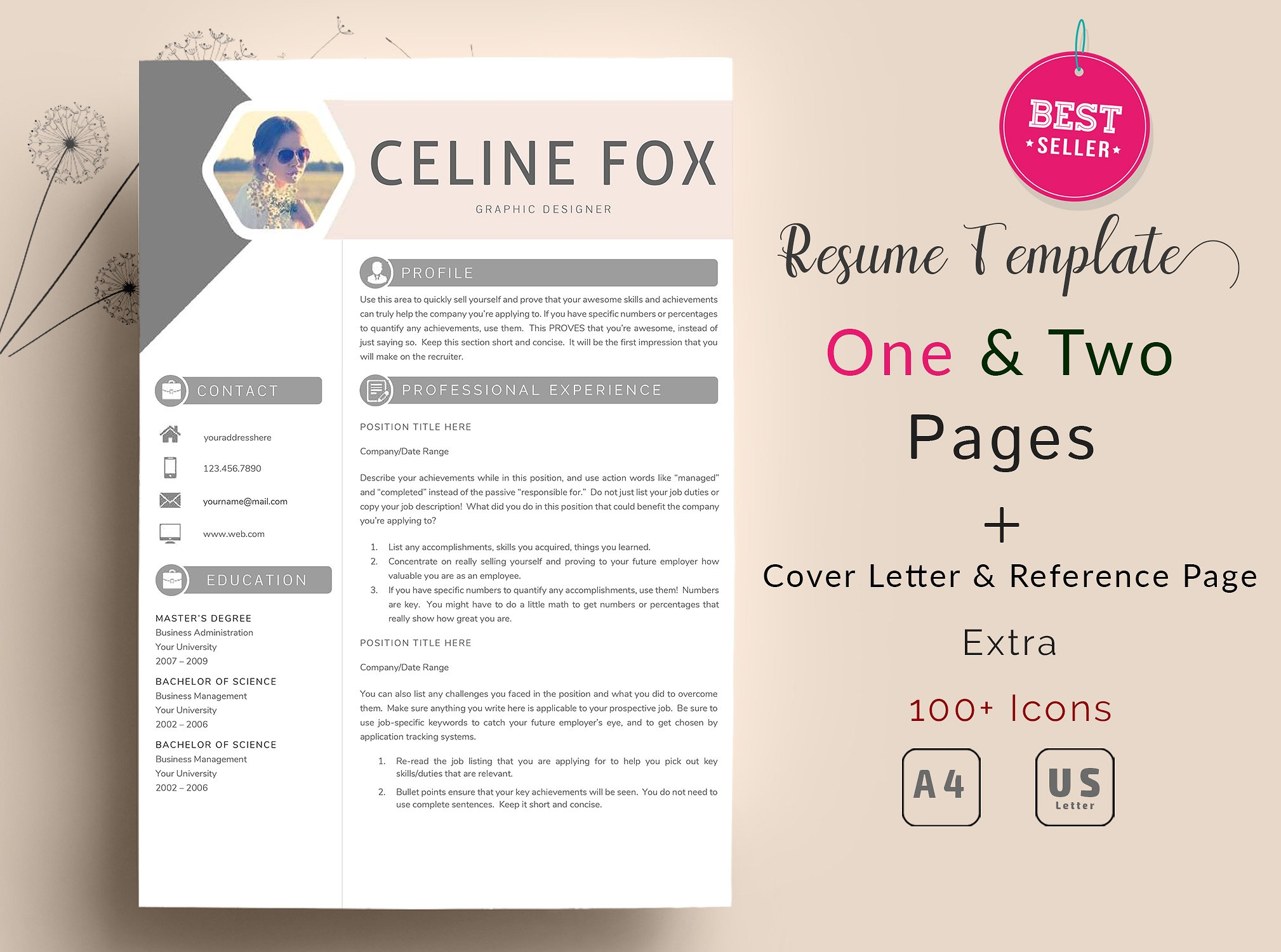 2 Page Resume Sample 50 43 Best Clean And Useful Cv Resume Templates Decolore Net