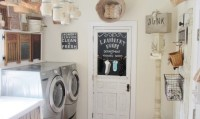 Vintage laundry room wall decor ideas | Decolover.net