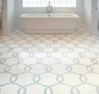 Classic mosaic as vintage bathroom floor tile ideas ...