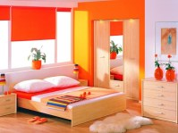 Orange and maroon master bedroom color ideas | Decolover.net