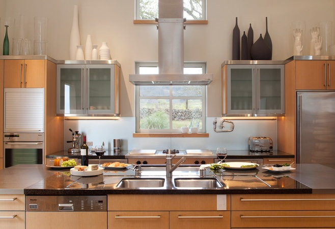 Image Of Decoration Decorating Above Kitchen Cabinets