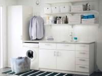 Inexpensive diy shelf laundry room storage ideas ...