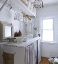 Laundry Room Curtains Ideas For Beauty and Comfort ...