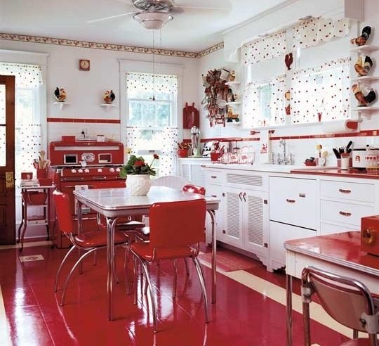 Vintage French Country Kitchen